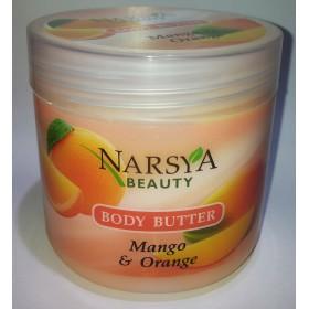 Crema corporala cu extracte de mango si portocal  - Termen valabilitate 08.2017