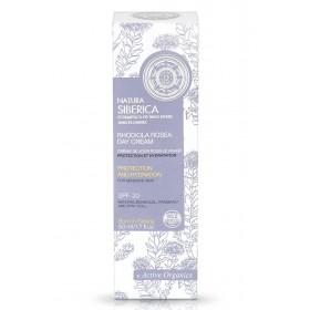 NATURA SIBERICA Crema protectoare si hidratanta de zi pentru ten sensibil