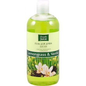 FRESH JUICE Gel de dus cu ulei de lemongrass, vitamine si vanilie  500ml