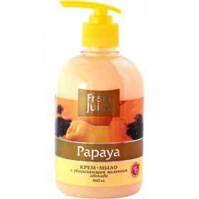 FRESH JUICE Sapun lichid cremos cu ulei de avocado si extract de papaya