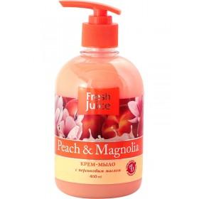 FRESH JUICE Sapun lichid cremos cu ulei de piersica si extract de magnolie