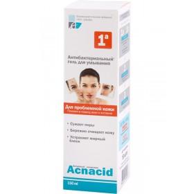ACNACID Gel antibacterian purificator pentru ten acneic - Pasul 1A
