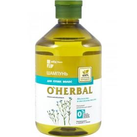 O'Herbal Sampon hidratant si emolient pentru par uscat