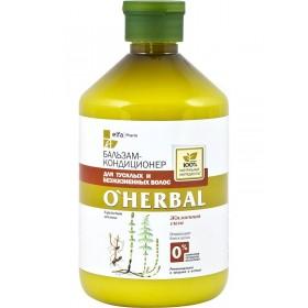 O'Herbal Balsam luminozitate pentru par tern si devitalizat