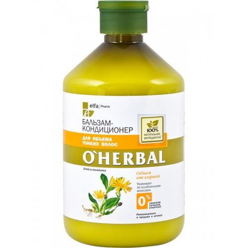 O'Herbal Balsam volum si elasticitate pentru par subtire