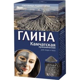 Argila cosmetica vulcanica neagra din Kamceatka cu efect de lifting