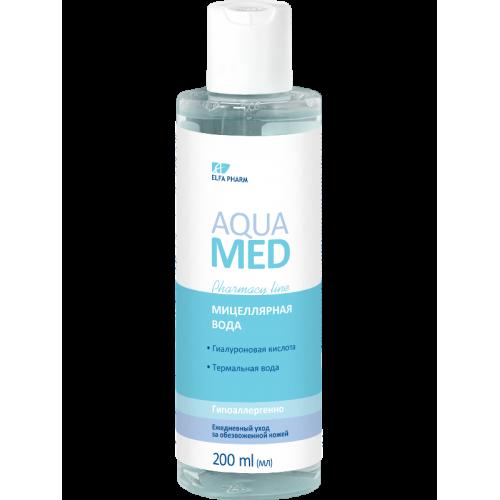 Aqua Med Apa micelara hidratanta cu acid hialuronic si apa termala