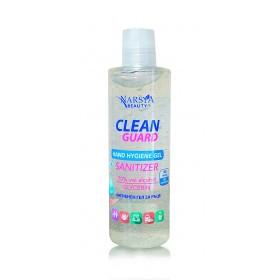 Gel  igienizant pentru maini 250ml cu glicerina, extracte de menta si lamaie - pret promotional