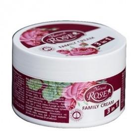 Crema universala 3 in1 cu extract de trandafir