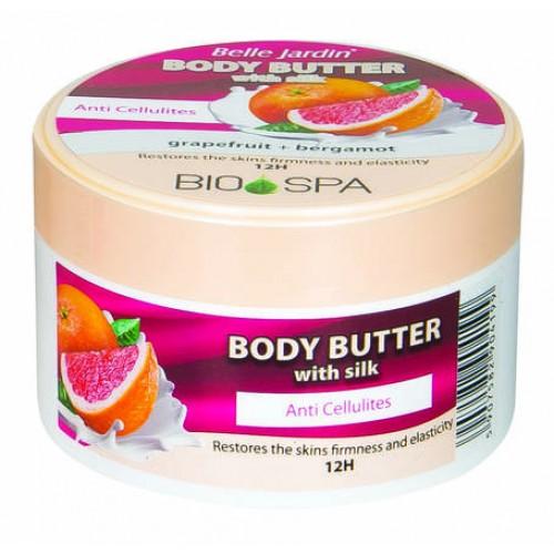 Unt corporal anticelulitic cu extracte de grapefruit si bergamota  - termen valabilitate 08.2020
