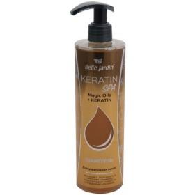 Sampon micelar fortifiant hidratant pentru par uscat Magic Oils+keratin