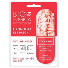 Plasturi pentru ochi Hydrogel Eye Patch cu pulbere de platina si colagen - antirid si pliuri - KOREA