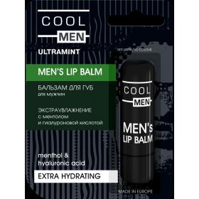 ULTRAMINT Balsam buze ultrahidratant barbati - menta si acid hialuronic