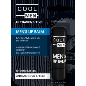ULTRASENSITIVE Balsam buze antibacterian barbati pt. buze sensibile