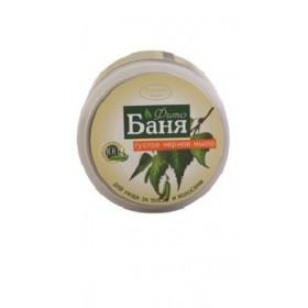 Sapun dens negru pentru par si corp pe baza de gudron de mesteacan si extracte din plante medicinale