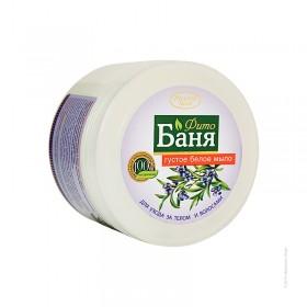 Sapun dens alb pentru par si corp cu extracte de trifoi alb, in, miere si vitamine - termen valabilitate 01.2021