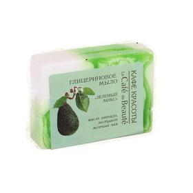 Sapun cu glicerina, ulei de avocado si extract de ceai verde