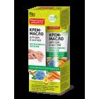 Crema nutritiva intensiva pentru maini si unghii cu ulei de in, extracte de lamaie si morcov -termen valabilitate 09.2019