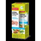 Crema-unt hidratant pentru maini cu ulei de migdale, aloe vera si ceai verde - termen valabilitate 08.2019