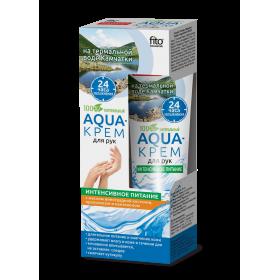 Crema aqua nutritiva intensiva pt maini cu apa termala, propolis, panthenol