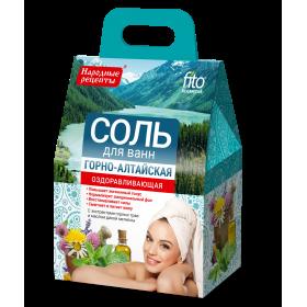 Sare de baie din Gorno-Altaysk cu efect revitalizant