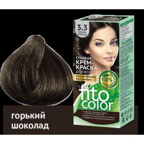 Vopsea de par permanenta fara amoniac  si miros Fitocolor 3.3 CIOCOLATIU AMARUI