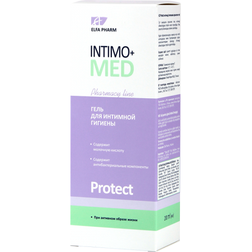 Intimo Med Gel intim Protect delicat cu efect hidratant si antibacterian