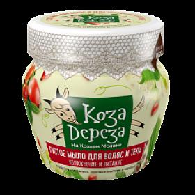 Sapun dens hidratant pentru par si corp cu extract de lapte de capra