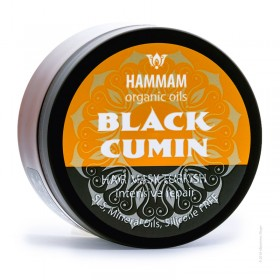 HAMMAM organic oils Masca reparatoare intensiva Turkish BLACK CUMIN