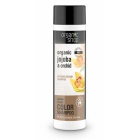 Sampon culoare si stralucire cu ulei de jojoba si extract de orhidee Golden Orchid