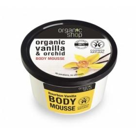 Mousse corporal cu extracte de vanilie si orhidee Bourbon Vanilla