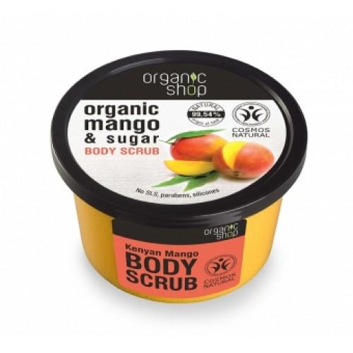 Exfoliant corporal cu zahar si extract de mango Kenyan Mango