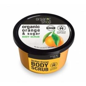 Exfoliant corporal cu zahar si ulei de portocale Sicilian Orange