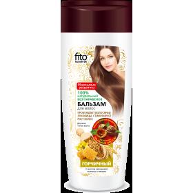 Balsam STIMULAREA CRESTERII pentru toate tipurile de par pe baza de nuci de sapun, mustar, germeni de grau si miere