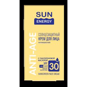 Sun Energy Crema faciala cu acid hialuronic si protectie solara SPF30