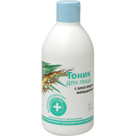 Tonic hidratant cu extracte de aloe vera si ginseng