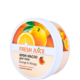 Crema-unt corporal Orange&Mango