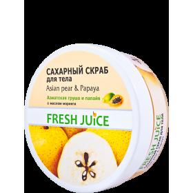 Scrub corporal Asian Pear & Papaya