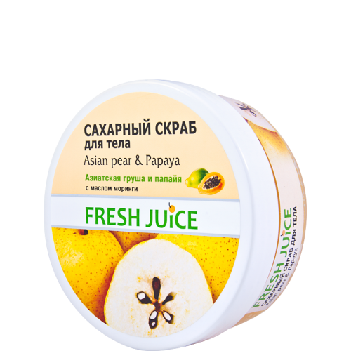 Scrub corporal Asian Pear & Papaya