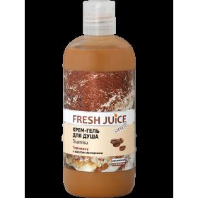 FRESH JUICE Gel de dus cremos cu proteine lactice, extracte de cacao si cafea 500ml