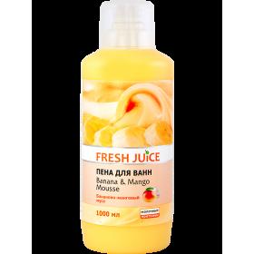FRESH JUICE Spumant de baie cu proteine lactice, extracte de mango si banane