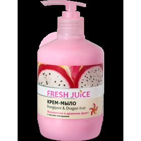 FRESH JUICE Sapun lichid cremos ulei de macadamia, extracte de frangipani si pitaya