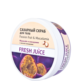Scrub corporal Passion Fruit@Macadamia