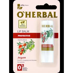 Balsam protector pentru buze cu ulei de argan