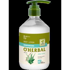 Lotiune corporala hidratanta cu extract de aloe vera  - termen valabilitate 05.2020