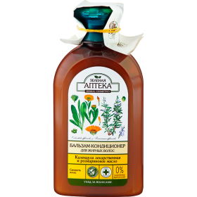 Balsam pentru par gras cu extract de galbenele  si ulei de rozmarin - momentan nu este pe stoc