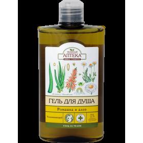 Gel de dus  hidratant cu extracte de musetel si aloe  curata delicat si catifeleaza pielea.