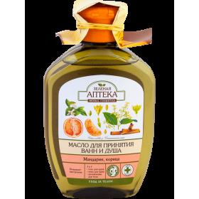 Ulei de baie si dus cu uleiuri de mandarin si scortisoara, extract de ginseng