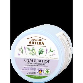 Crema deodoranta pentru picioare cu efect antifungic