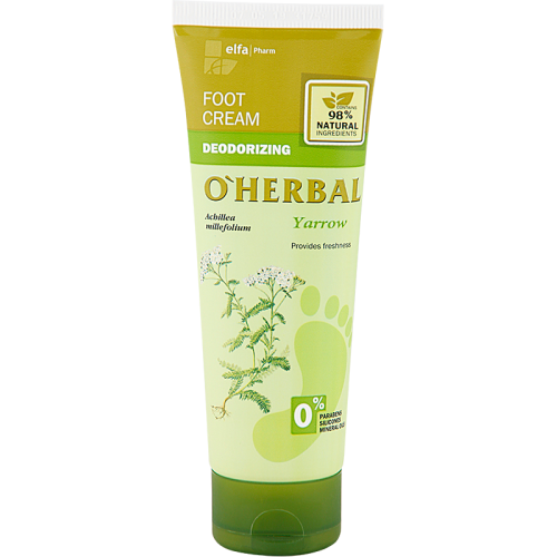 Crema dezodorizanta pentru picioare cu extract de coada soricelului - termen valabilitate 12.2019